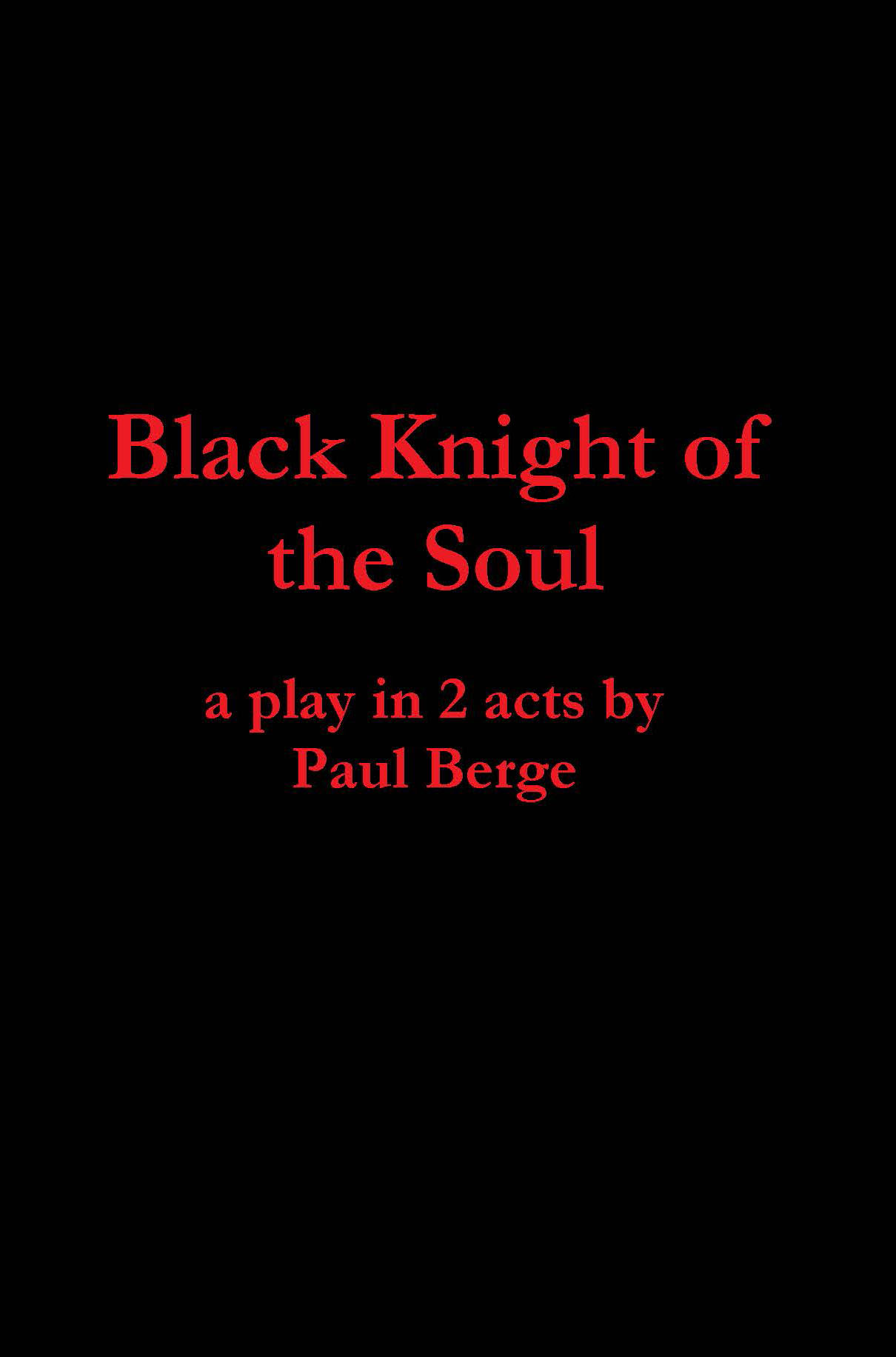 Black Knight of the Soul